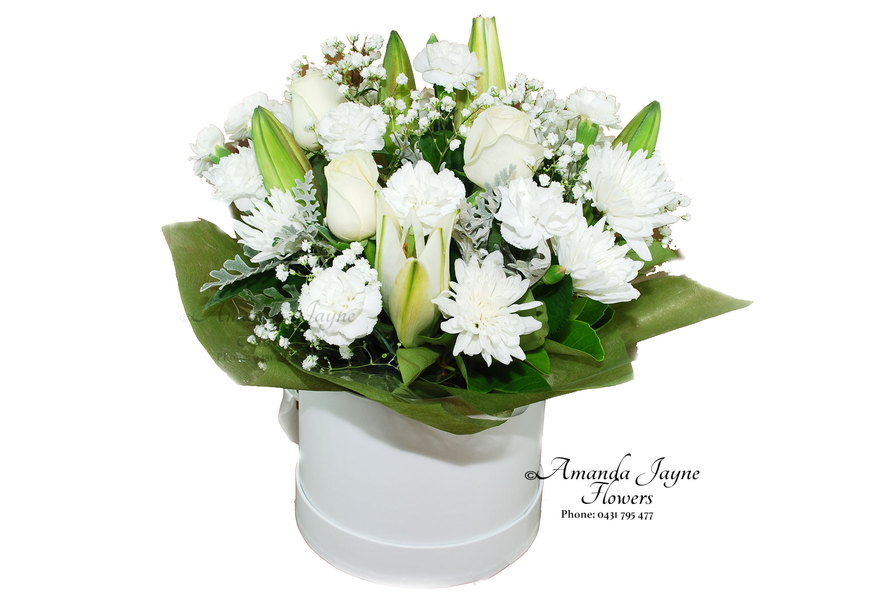 Flowering Hat Box